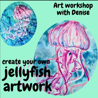 Art workshop with Denise
