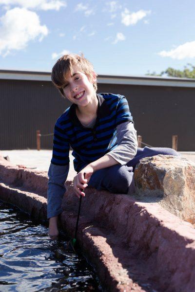 12 years mini marine biologist